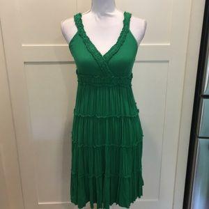 Green Summer Tank Dress